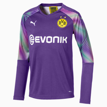 BVB Kids' Replica Goalkeeper Jersey, Prism Violet, small