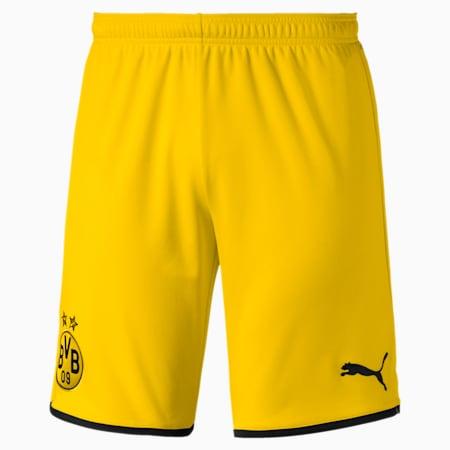 Meska replika szortów wyjazdowych BVB, Cyber Yellow-Puma Black, small