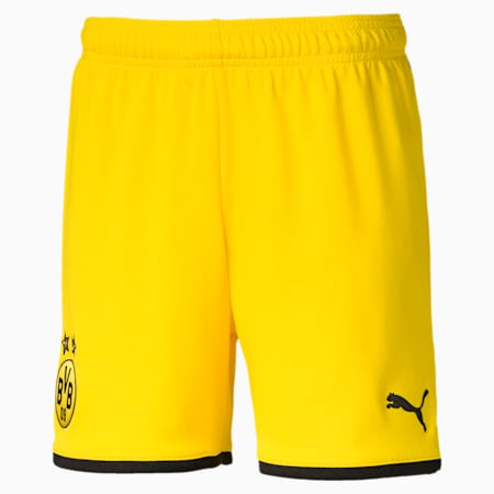 BVB Kinder Replica Shorts, Cyber Yellow-Puma Black, small