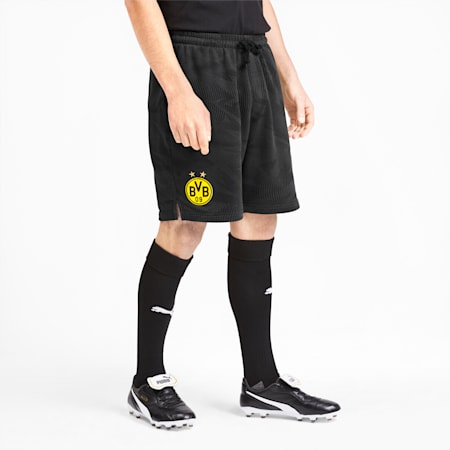 BVB Casuals Men's Shorts, Puma Black-Phantom Black, small