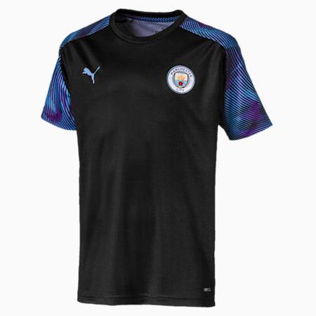 Dziecieca koszulka treningowa Man City, Puma Black-Team Light Blue, small