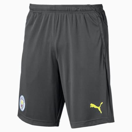 Manchester City FC Herren Trainingsshorts, Asphalt-Fizzy Yellow, small