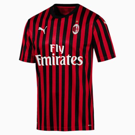 Autentyczna meska koszulka domowa AC Milan z krótkimi rekawami, Tango Red -Puma Black, small