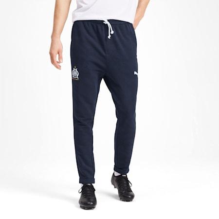 Olympique de Marseille Casuals Men's Sweatpants, Peacoat, small