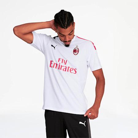 AC Milan Away Replica Jersey, Puma White-Tango Red, small