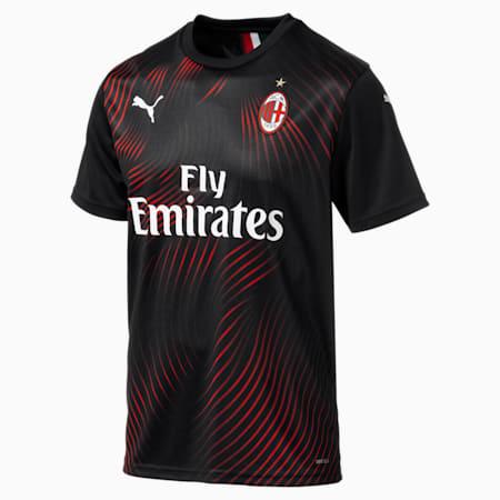 AC Milan Third Replica Men's Jersey, Puma Black-Tango Red, small-SEA