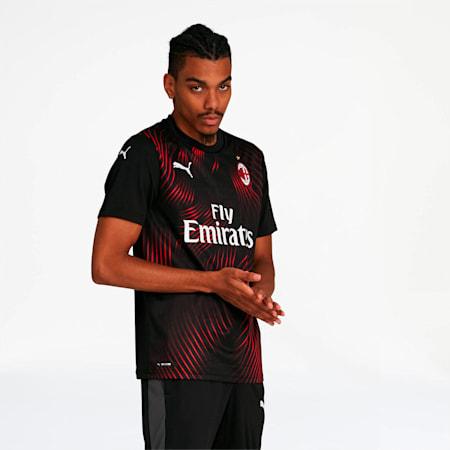 AC Milan Third Replica Jersey, Puma Black-Tango Red, small
