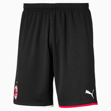 AC Milan Away Replica Men's Shorts, Puma Black-Tango Red, small-SEA