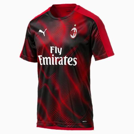 AC Milan Stadium Men's Jersey, Tango Red -Puma Black, small