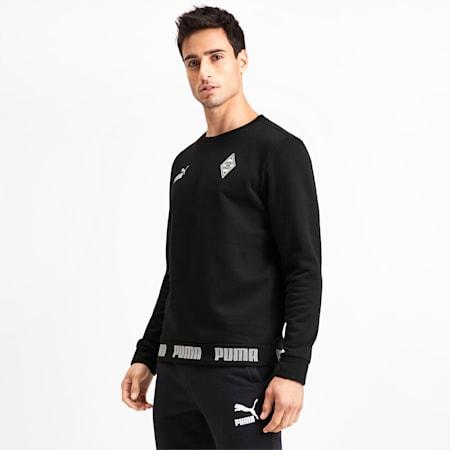 Sweatshirt Borussia Mönchengladbach Football Culture pour homme, Puma Black, small