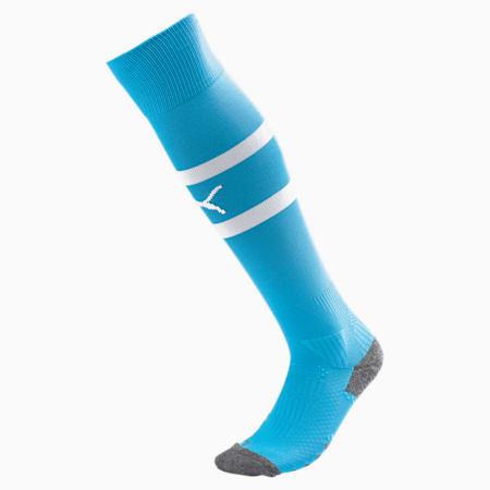 Valencia CF Banded Men's Socks, Bleu Azur-Puma White, small