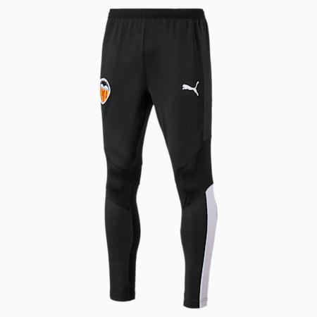Meskie spodnie treningowe Valencia CF, Puma Black-Puma White, small