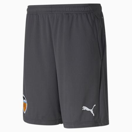 Valencia CF Men's Training Shorts, Asphalt-Puma White, small