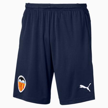 Valencia CF Men's Training Shorts, Peacoat-Puma White, small
