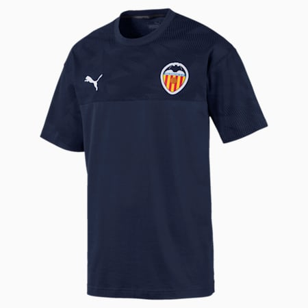 Valencia CF Casuals Men's Tee, Peacoat, small
