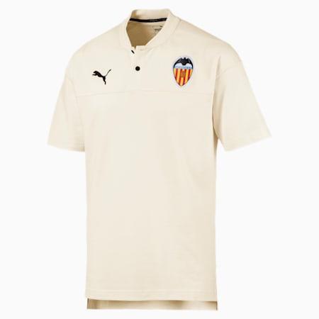Valencia CF Casuals Men's Polo, Whisper White, small