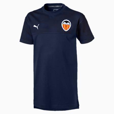 Valencia CF Casuals Kids' Tee, Peacoat, small