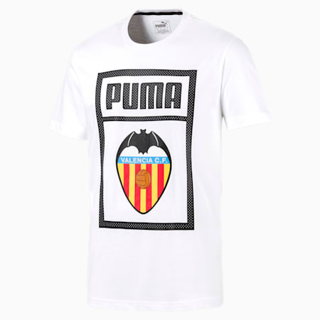Valencia CF Shoe Tag Men's Tee, Puma White, small