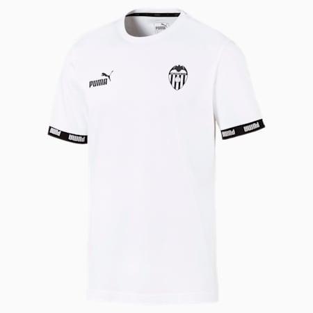 Valencia CF Football Culture Men's Tee, Puma White, small