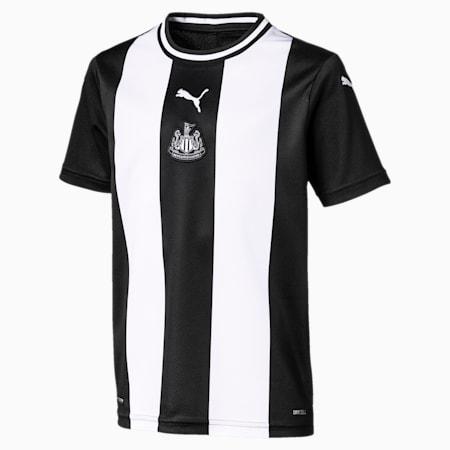 NEWCASTLE UNITED FC REPLICA KORTÆRMET HJEMMEBANETRØJE TIL BØRN, Puma White-Puma Black, small