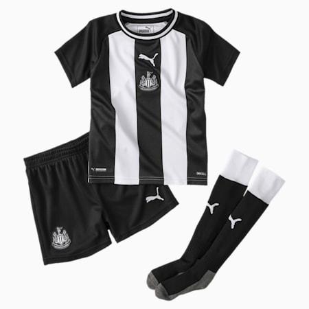Newcastle United Kids' Home Mini Kit, Puma White-Puma Black, small
