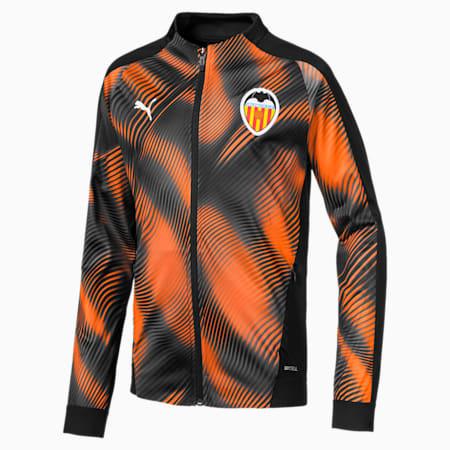 Dziecieca koszulka Valencia CF Stadium, Puma Black-Vibrant Orange, small