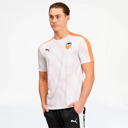 Camiseta Stadium del Valencia CF, Vibrant Orange-Puma White, pequeño