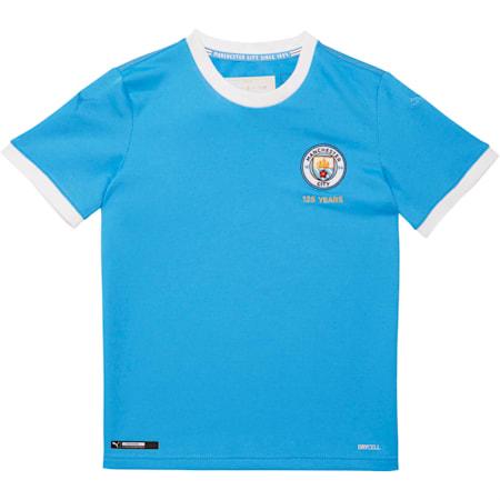 Manchester City FC 125th Anniversary Replica Jersey JR, Marina-Puma White, small