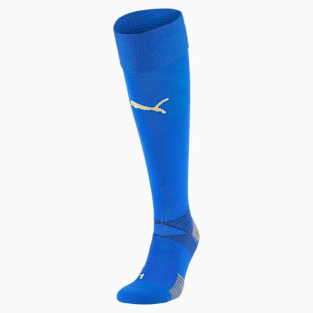 Italia Men's Home Replica Socks, Team Power Blue-Peacoat, small