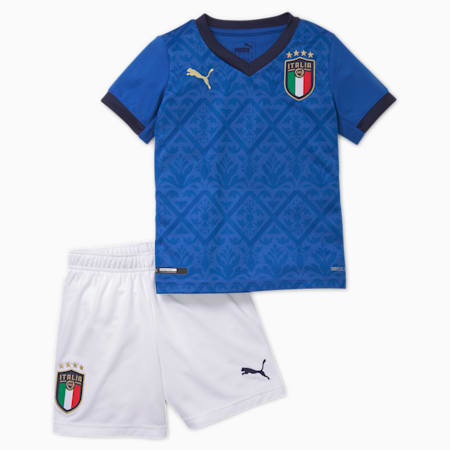 Italia Home Minikit voor baby's, Team Power Blue-Peacoat, small
