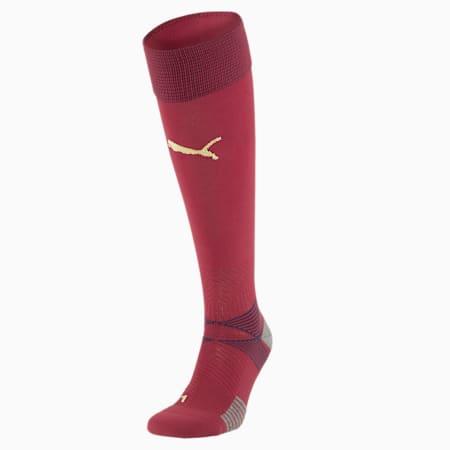 Chaussettes de goal Italie Replica pour homme, Cordovan-Peacoat, small