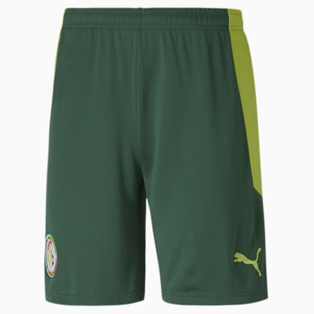 Short extérieur Sénégal Replica pour homme, Dark Green-Limepunch, small