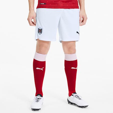 Shorts Home Austria Replica da uomo, Puma White-Puma Red, small