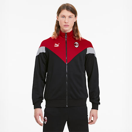 AC Milan Iconic MCS Men's Track Jacket, Puma Black, small