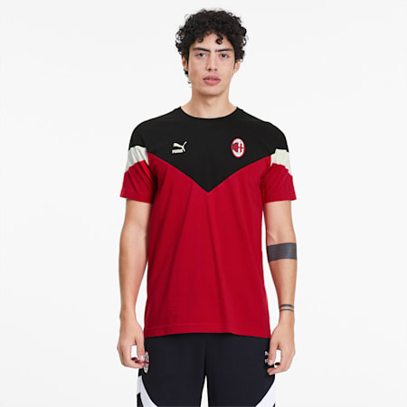 AC Milan Iconic MCS Tee, Tango Red, small