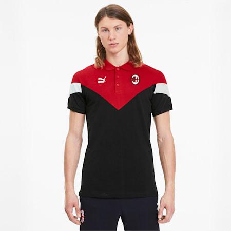 Polo da uomo AC Milan Iconic MCS, Puma Black, small
