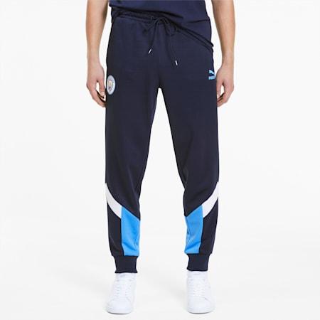 Man City Iconic MCS Herren Trainingshose, Peacoat-Team Light Blue, small