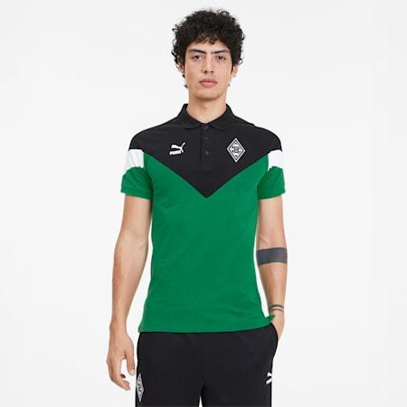 Borussia Mönchengladbach Men's MCS Polo Shirt, Amazon Green, small