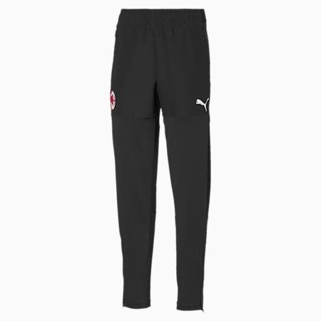 AC Milan Kids' Stadium Training Pants, Puma Black, small