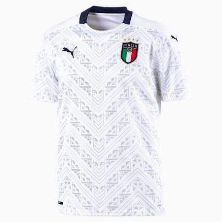Italia Away replica shirt voor heren, Puma White-Peacoat, small
