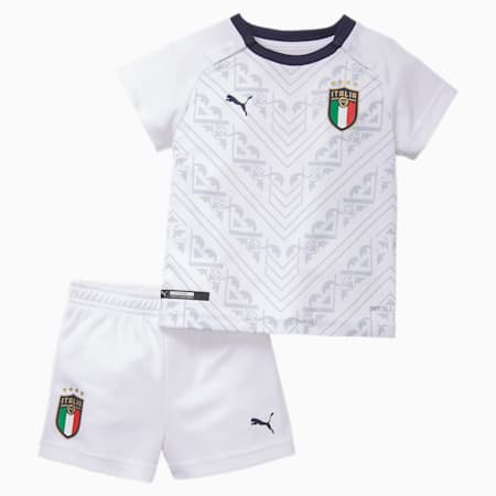 Italia Babies' Away Minikit, Puma White-Peacoat, small