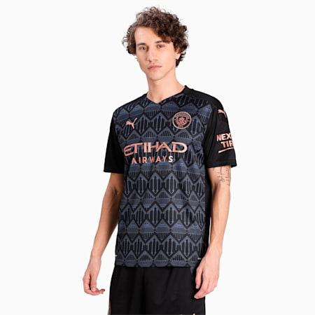 Manchester City Away Replica dryCELL Men's Jersey, Puma Black-Dark Denim, small-IND