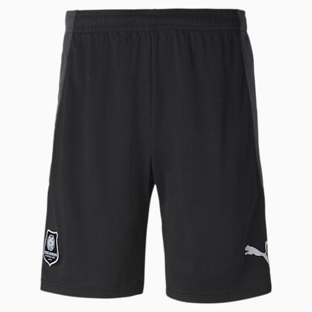 Shorts de fútbol réplica del Stade Rennais para hombre, Puma Black-Asphalt, small