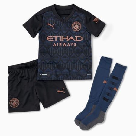 Man City Away Youth Mini Kit, Puma Black-Dark Denim, small