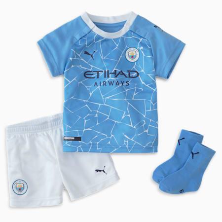 Man City Home Youth Mini Kit, Team Light Blue-Peacoat, small