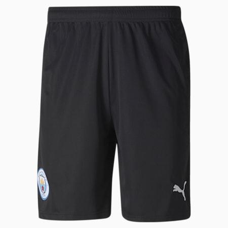 Short de goal Manchester City Replica homme, Puma Black-Asphalt, small