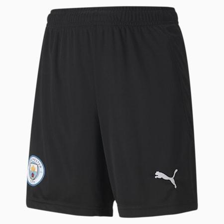 Shorts de portero réplica del Manchester City juveniles, Puma Black-Asphalt, small