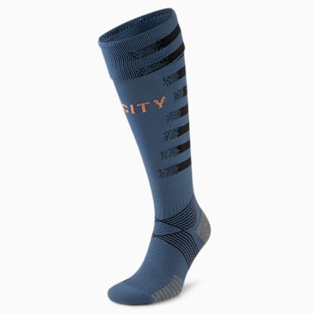 Man City Replica Men's Goalkeeper Socks, Dark Denim-Copper, small-GBR