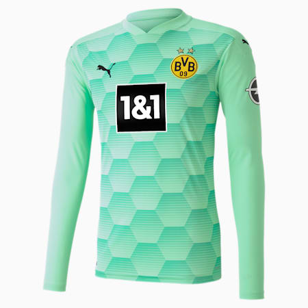 Maillot de goal à manches longues BVB Replica homme, Green Glimmer, small