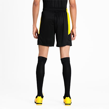 BVB Replica dryCELL Men's Football Shorts, Puma Black-Cyber Yellow, small-IND